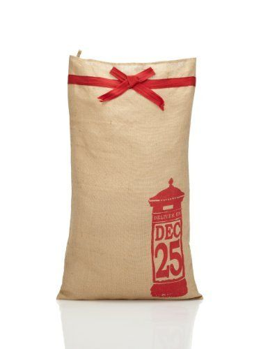 Hessian Christmas Sack - Marks & Spencer - Dimensions: H985 x W590 x D5mm - £12.00