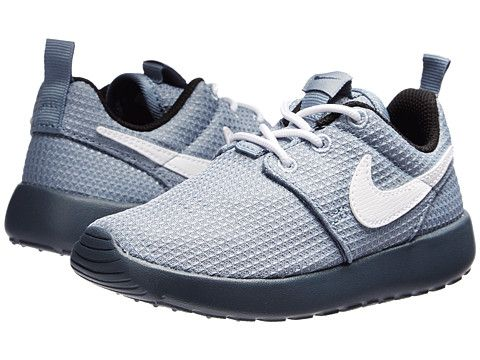 Nike Kids Roshe Run (Toddler/Little Kid) Magnet Grey/Black/Dark