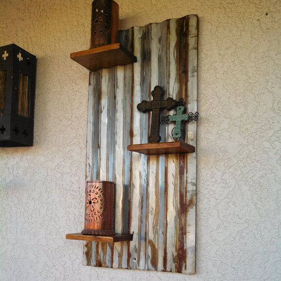 53 best images about backyard ideas on pinterest wood for Pallet floating shelves