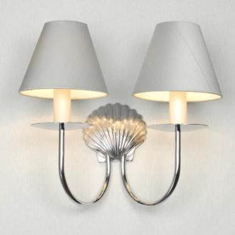 Double Shell Wall Light made by Jim Lawrence