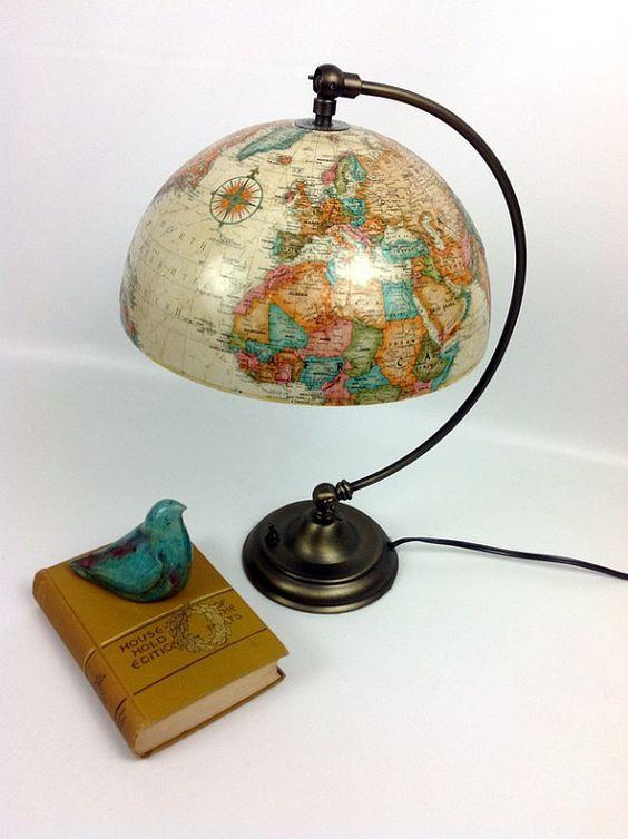 15 оригінальний ідей використання старого глобуса – Самотужки