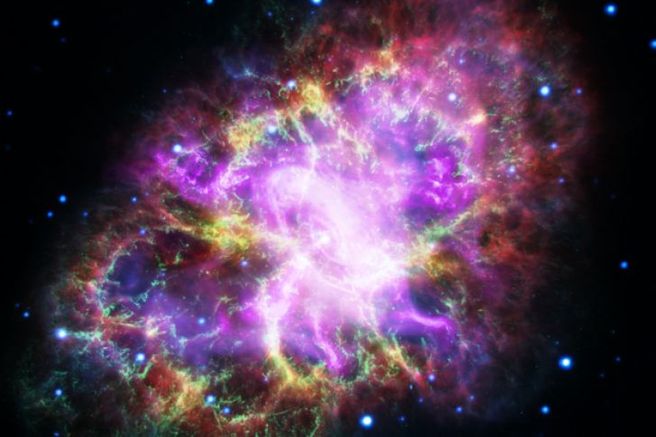 Captan en todo su esplendor a la gigantesca Nebulosa del Cangrejo (Video)