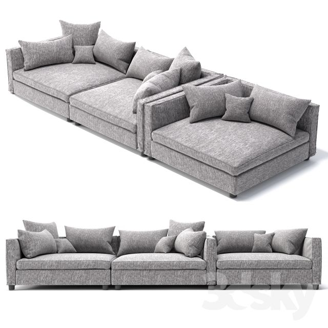 Bolia Mr Big Sofa 2 Units And Cornerunit 3dsmax Chairs Pinterest