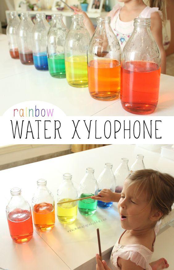 Rainbow Water Xylophone   Mama.Papa.Bubba.