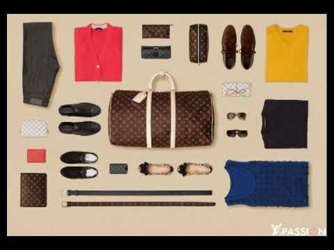 The Art of Packing video from Louis Vuitton can show you a few tips and tricks for maximizing your suitcase space and folding your clothes to reduce creases.
