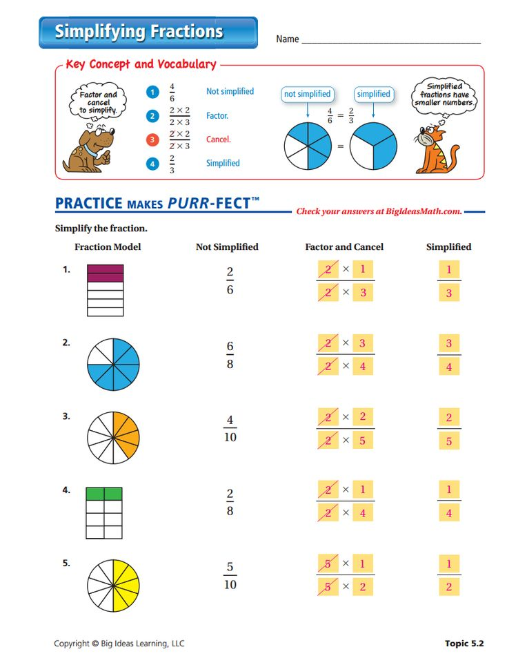 9 best Fractions (Middle School) images on Pinterest ...