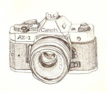 drawing of camera - Google Search