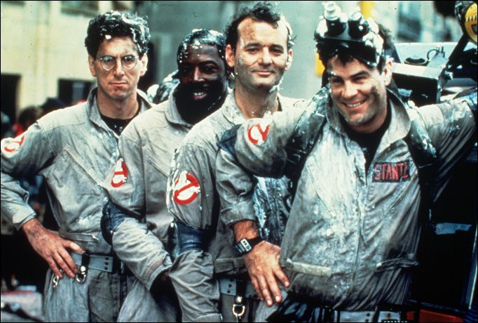 Ghostbusters. if you don't like this movie, there might be something seriously wrong with you. i'm not even kidding.