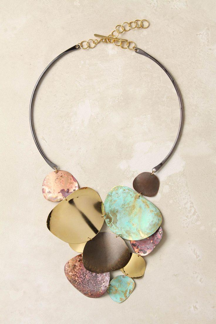 Anthropologie Melded Metals necklace