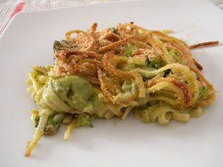 Linguine con broccoli e besciamella