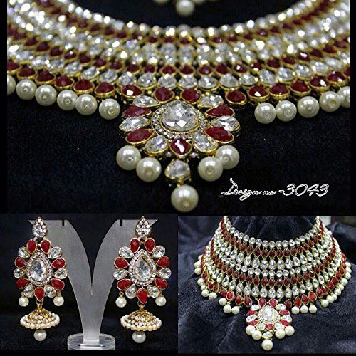 Traditional Indian Bollywood Style Gold Plated White Pear... https://www.amazon.ca/dp/B01M4FM50R/ref=cm_sw_r_pi_dp_x_NNWJyb2477E8D