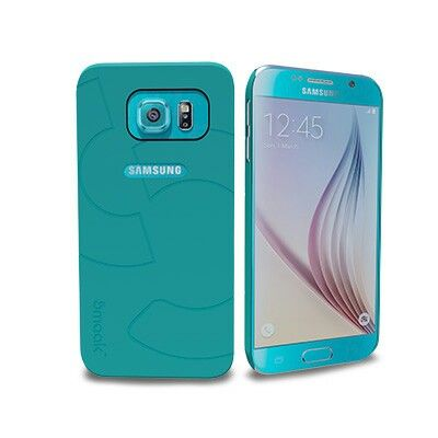Smaak™ Sleek Ultra Thin PC Case  for Galaxy S6 - Blue.  For more info visit www.ismaak.com
