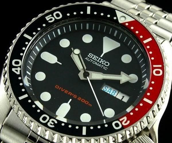 SEIKO Diver SKX009K2 Jubilee Automatic Diver Watch Orologio Automatico 200m