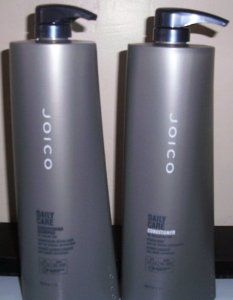 Joico Daily Care Conditioning Shampoo and Conditioner Liter Duo by Joico. $35.06. Daily Care Conditioner for normal/dry hair 33.8oz. Daily Care Conditioning Shampoo for nomal/dry hair 33.8oz. Conditioning Shampoo for normal to dry and chemically-treated hair. Enhances moisture balance. Available sizes: 10.1 oz., 33.8 oz., Gallon.