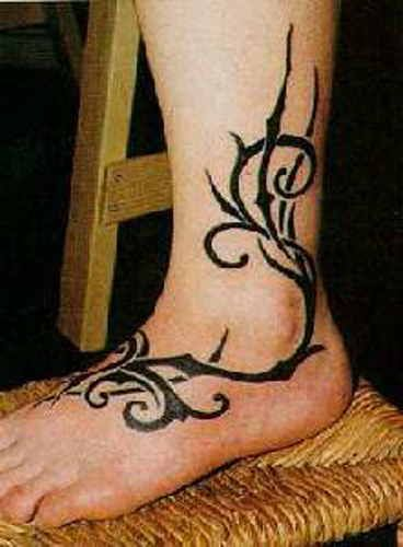 115 foot tattoos