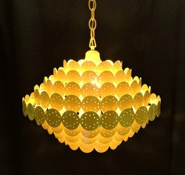 Best 25 yellow chandelier ideas on pinterest teal rooms mid century mod yellow chandelier panton style midcentury chandeliers aloadofball Gallery
