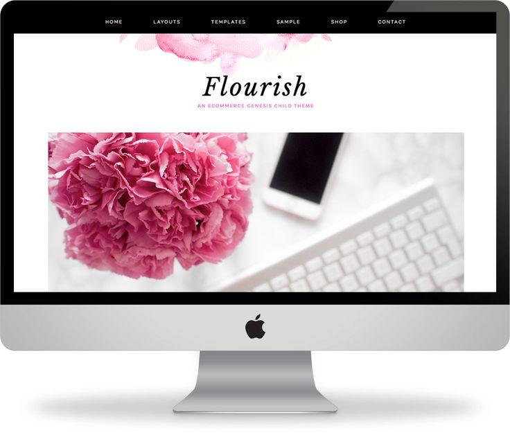 Introducing Flourish – Chic WordPress Template June 6, 2016 · Leave a CommentIntroducing Flourish – Chic WordPress Template