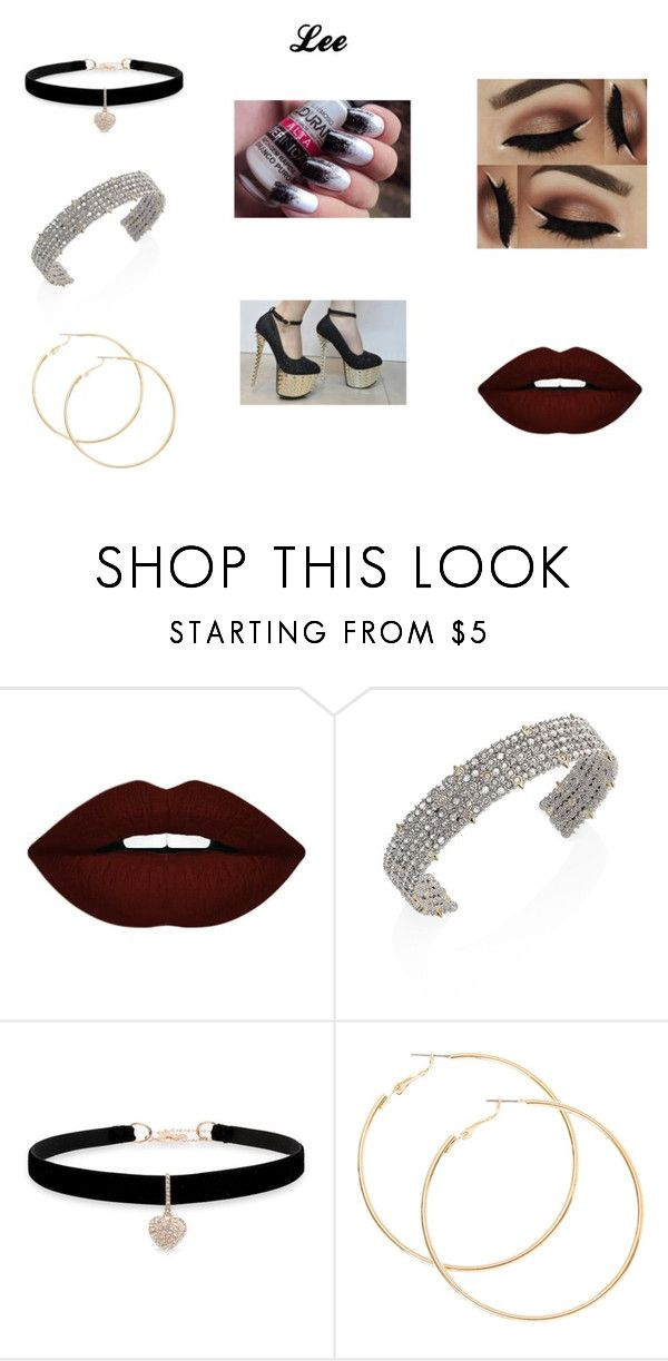 """Lee"" by grazi-gabe on Polyvore featuring moda, Forever 21, Alexis Bittar e Betsey Johnson"