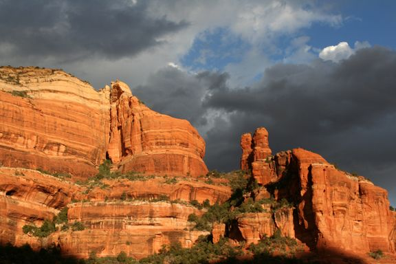 Nature Pictures: View Images of Arizona  |Sedona Fall Scene