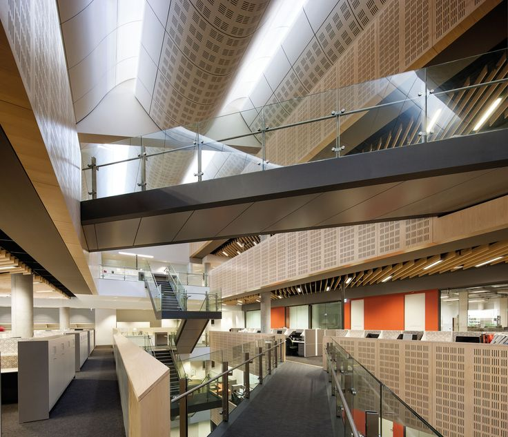 Main atrium, Tyree Building, UNSW Australia