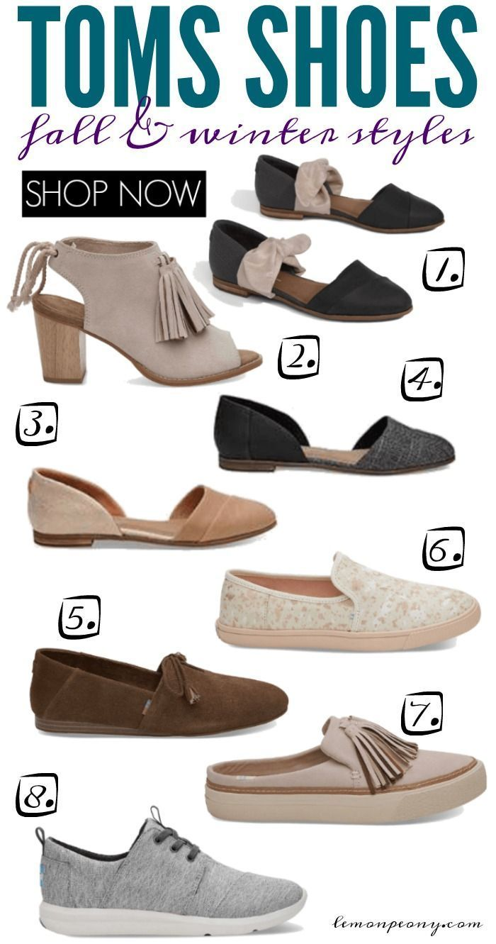 04319ac03 Toms Shoes Fall and Winter Styles and Trends! Everyday CUTE and Comfortable  Slip-ons, Booties, Ballet Flats, Sneakers, Tassels, and Tie Shoes for Women!