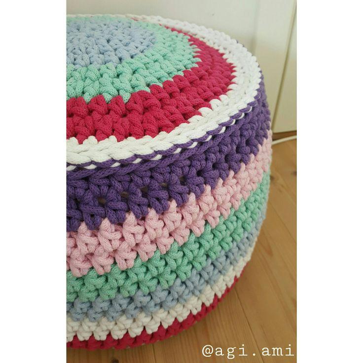 #pouf #pufka #crochet #handmade #diy #colors #agiami