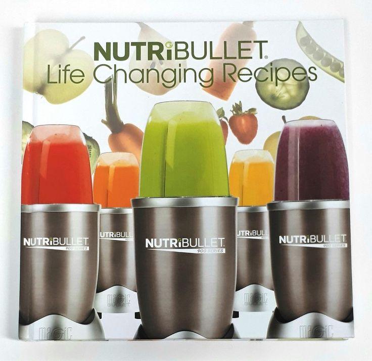 NutriBullet Life Changing Recipes Book  Magic Bullet 900 Series | eBay