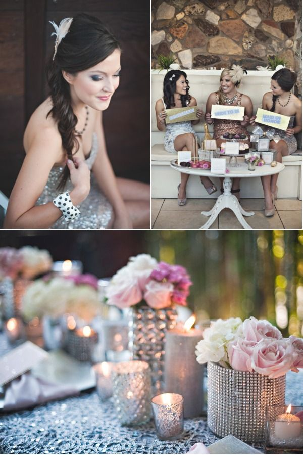 New Years Bachelorette Party by Urban Style The Wedding Network | Style Me Pretty