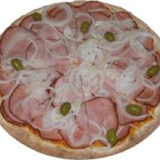 Pizza Bacon Canadense