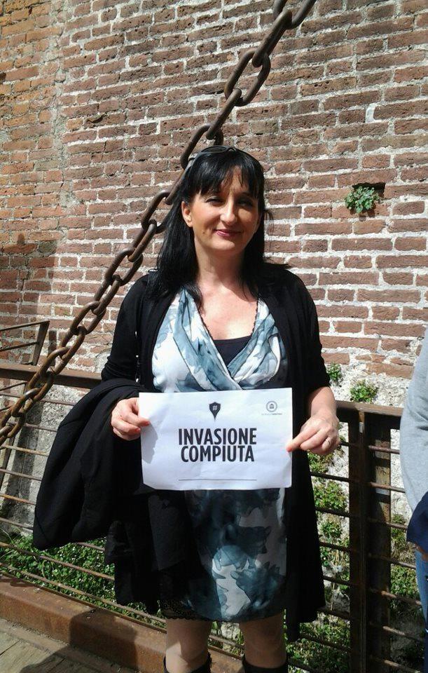 L'assessore Giovanna Stellini festeggia con noi, Il WEB fa cultura e marketing del territorio, che lo abbia capito ....io dico di SI!