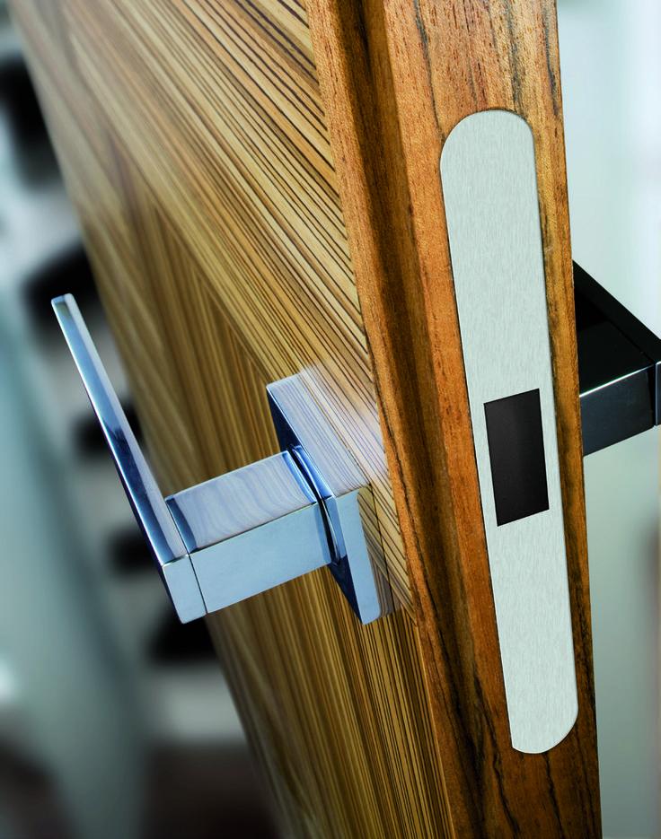 The most refined minimalism made #handle. #design #interiordesign #doors
