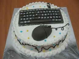 computer themed cakes - Google Search