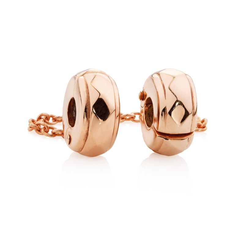 Rose gold stoppers  safety chain (11961277) #rosegold #emmaandroe