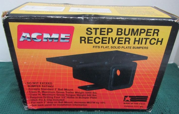 Acme Class III Step Bumper Hitch 88303 - Free Shipping #AcmeProductsCompany