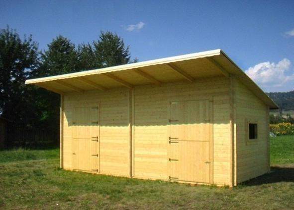 box prefabbricato in legno per cavalli 715 x 310cm - Casette ...
