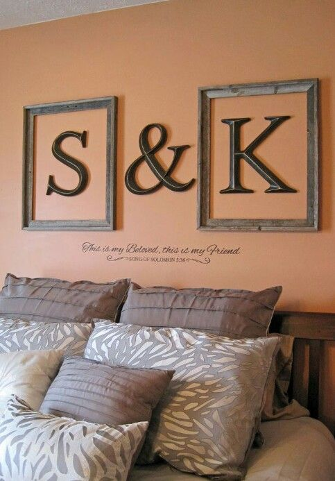 I like this...annnnd the fact that its me and the hubbys initials makes it even better