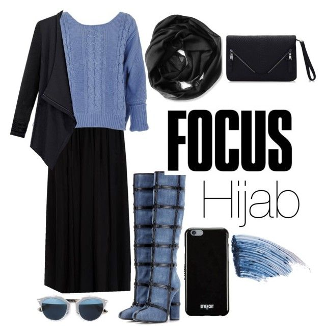 """Hijab Style"" by rabiasemx on Polyvore featuring Elie Saab, Calvin Klein, Tom Ford, Christian Dior, Givenchy, Sisley - Paris, women's clothing, women, female and woman"