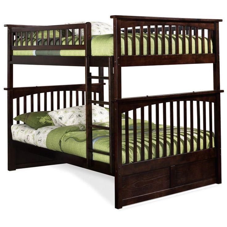 Atlantic Furniture Columbia Full over Full Bunk Bed - AB55524