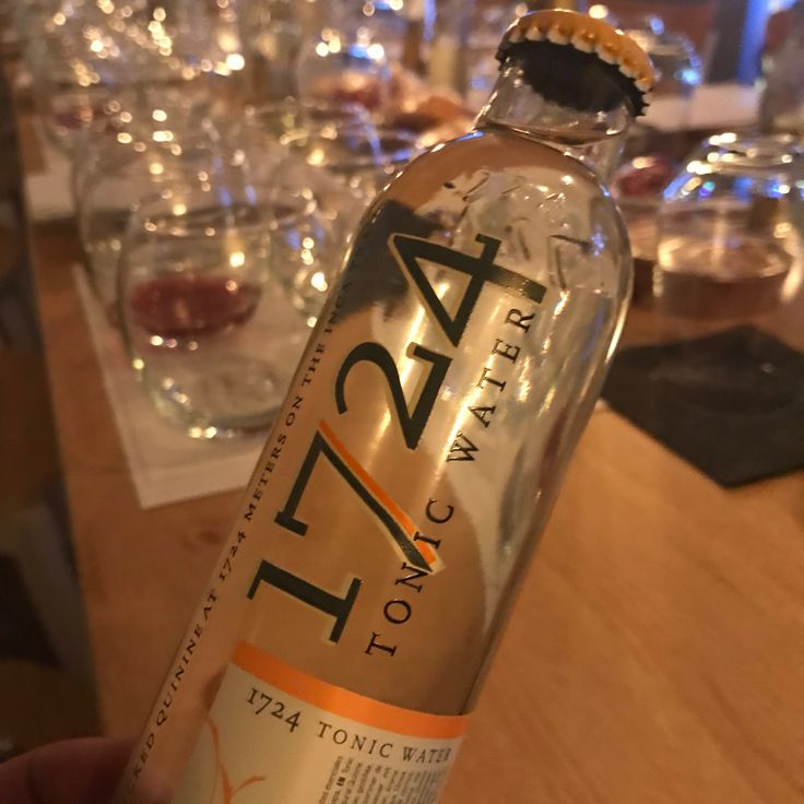 1724 tonic water - only the best will do!