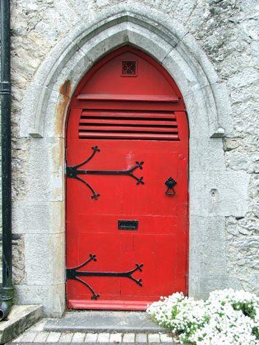 Limerick, Ireland. Red Door