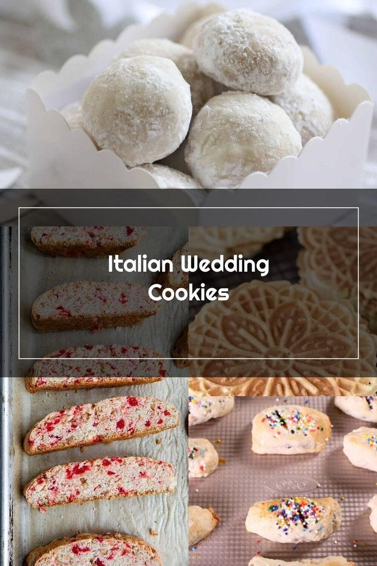The Italian Wedding Cookie Recipe Is From My Childhood They Make Their Appearance At Bridal Showers Baby Showers And During The Christmas Holidays In 2020
