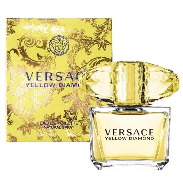 Versace Yellow Diamond EDT 90ml For Women TESTER >> Click pe poza pentru a vedea pretul.  #ParfumuriOriginale #ParfumuriOnline