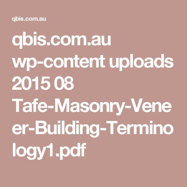 qbis.com.au wp-content uploads 2015 08 Tafe-Masonry-Veneer-Building-Terminology1.pdf