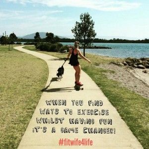 Start to think of movement as play instead of hard work and pain. bridaliciousbootcamp.com.au