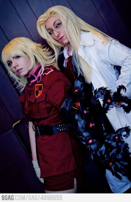 Hellsing: Royal Protestant Knights  My favourite duo- 'Hellsing HQ' <3