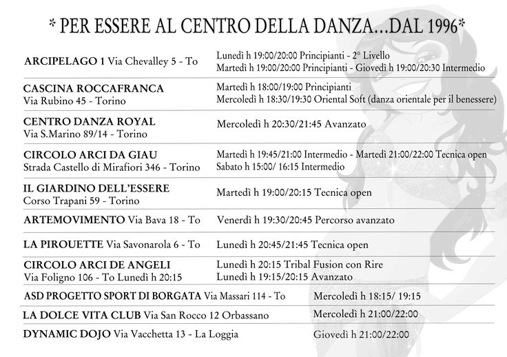#ArtemideDanza #corsi #danzaorientale #danzadelventre #bellydance #Torino https://www.smore.com/2zwbw