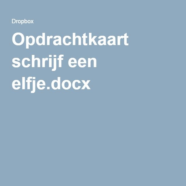 Opdrachtkaart schrijf een elfje.docx