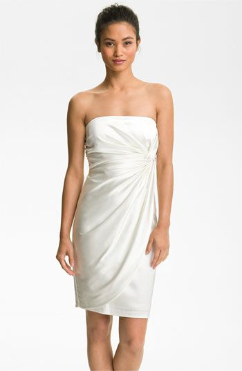 Maggy London Strapless Sheath Dress available at #Nordstrom