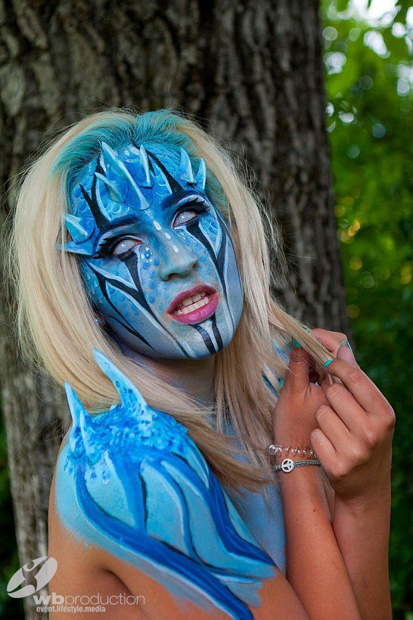 Learn everything possible for Bodypainting, Facepainting, Makeup and Special effects during the World Bodypainting Festival week. Our Workshop programs are available here: http://academy.bodypainting-festival.com ======== Lerne alles rund um Body- und Facepainting, Makeup und Special Effects in der World Bodypainting Academy in der Festival Woche.  Alle Details auf http://academy.bodypainting-festival.com