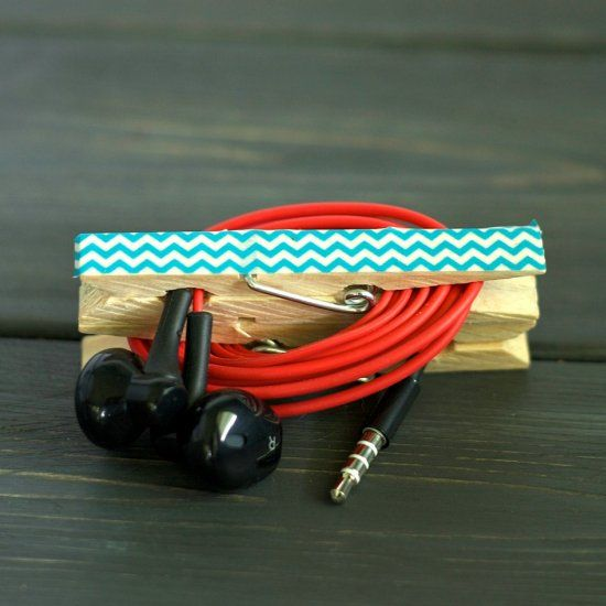 DIY Headphone Clips